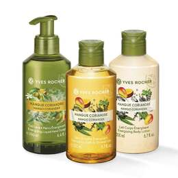 Set Les Plaisirs Nature Mangue Coriandre à 10,90€