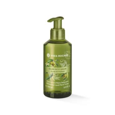 Gel lavant mains Olive & Petit Grain  190 ml, Les Plaisirs Nature, Yves Rocher