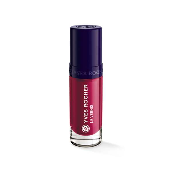 Vernis couleur végétale Rouge pavot, Vernis à ongles, Ongles, Make-up, Yves Rocher