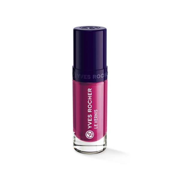 Vernis Couleur Végétale Rose dalhia, Expert make-up, Flacon 5 ml, Vernis à ongles, Ongles, Make-up