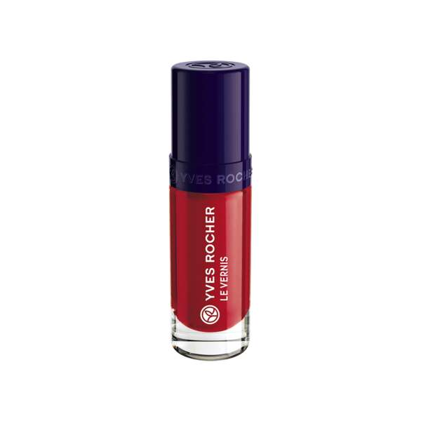 Vernis Couleur Végétale Coquelicot, Expert make-up, Flacon 5 ml, Vernis à ongles, Ongles, Make-up
