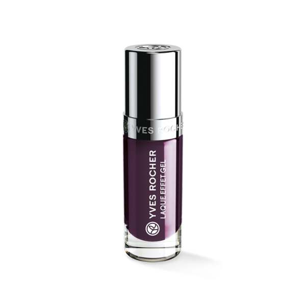 Laque Effet Gel Aubergine profond, Expert make-up, Flacon 5 ml, Vernis à ongles, Ongles, Make-up