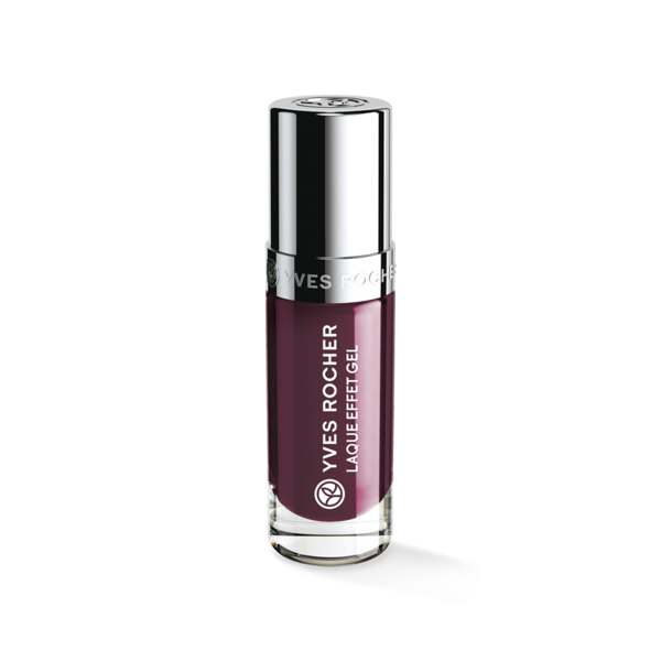 Laque Effet Gel Prune mystérieux, Expert make-up, Flacon 5 ml, Vernis à ongles, Ongles, Make-up