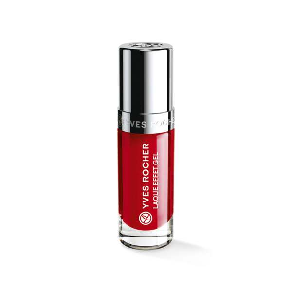 Laque Effet Gel Rouge impérial, Expert make-up, Flacon 5 ml, Vernis à ongles, Ongles, Make-up