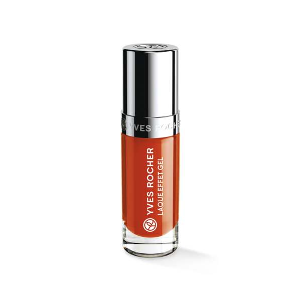 Laque Effet Gel Orange sanguine, Expert make-up, Flacon 5 ml, Vernis à ongles, Ongles, Make-up