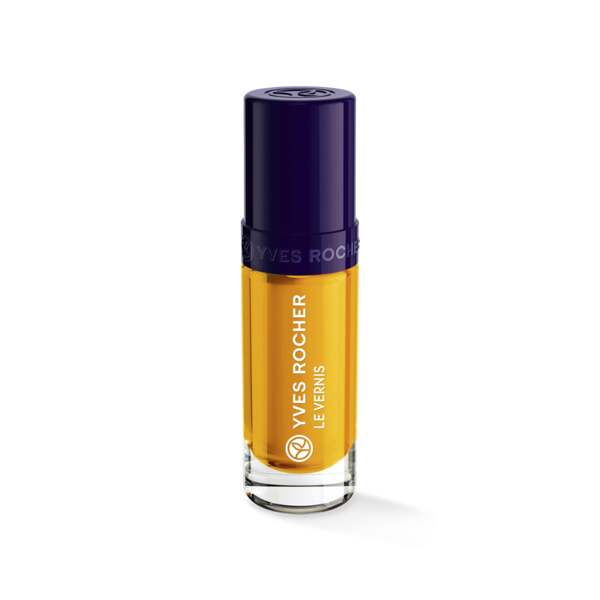 Vernis Couleur Végétale Citron, Expert make-up, Flacon 5 ml, Vernis à ongles, Ongles, Make-up