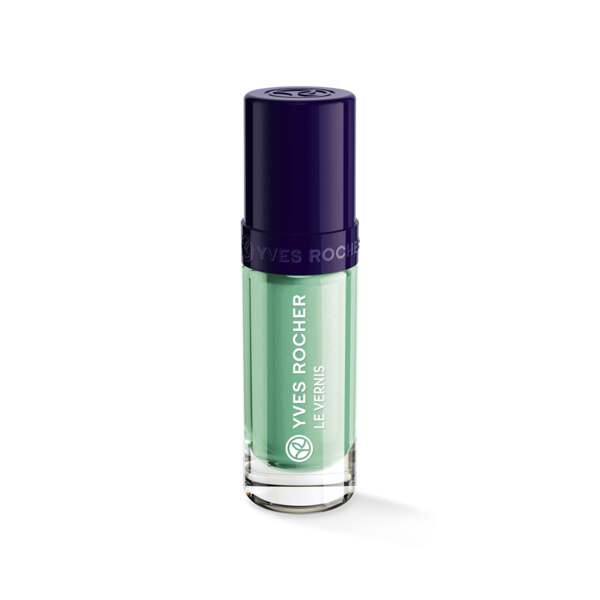 Vernis Couleur Végétale Menthe, Expert make-up, Flacon 5 ml, Vernis à ongles, Ongles, Make-up