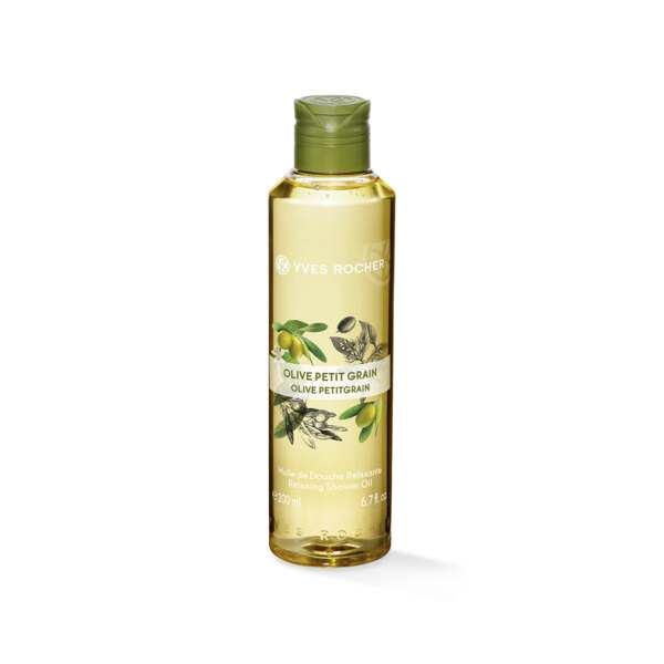 Huile Douchee Olive Petit Grain, Yves Rocher, Flacon 200 ml