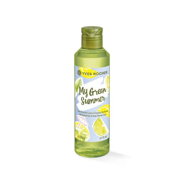 Gel Douche Corps & Cheveux Parfumé - My Green Summer