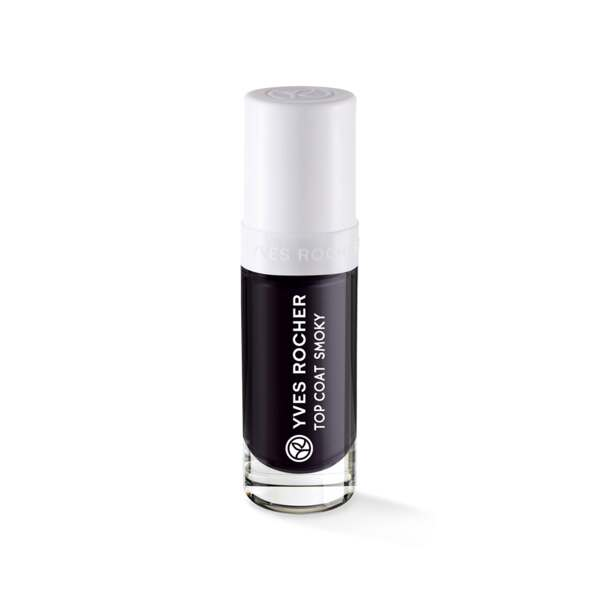 Top Coat Effet Smoky, Expert make-up, Flacon 5 ml, French manicure, Ongles, Make-up