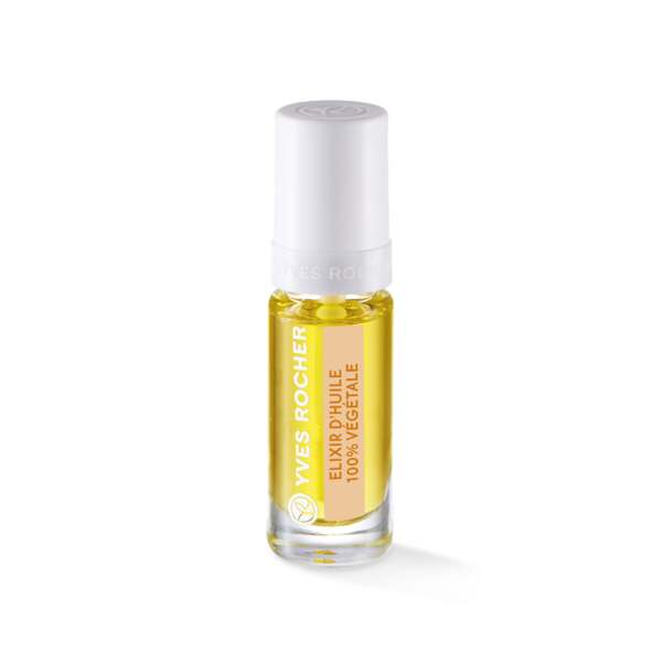 Elixir d'Huile 100% Végétale, Expert make-up, Flacon 5 ml, French manicure, Ongles, Make-up