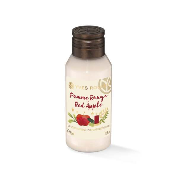 Mini Lait Corps Parfumé Pomme Rouge 50ml - Collection de Noël