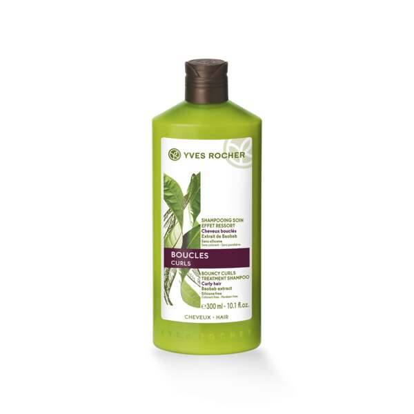Shampooing Soin Effet Ressort, Flacon 300 ml, Cheveux normaux, Cheveux