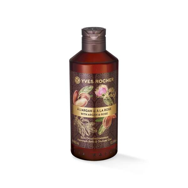 Bain Douche Hammam Argan Rose - 400ml
