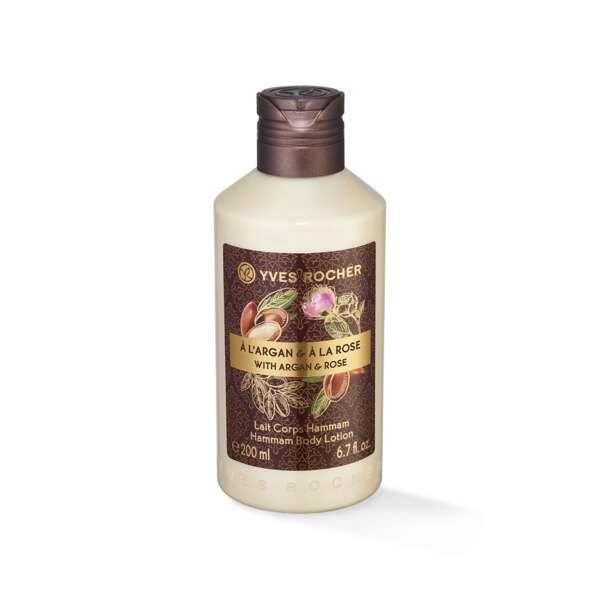 Lait Corps Hammam Argan Rose - 200ml