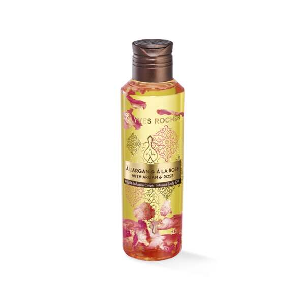 Huile Infusée Corps Argan Rose