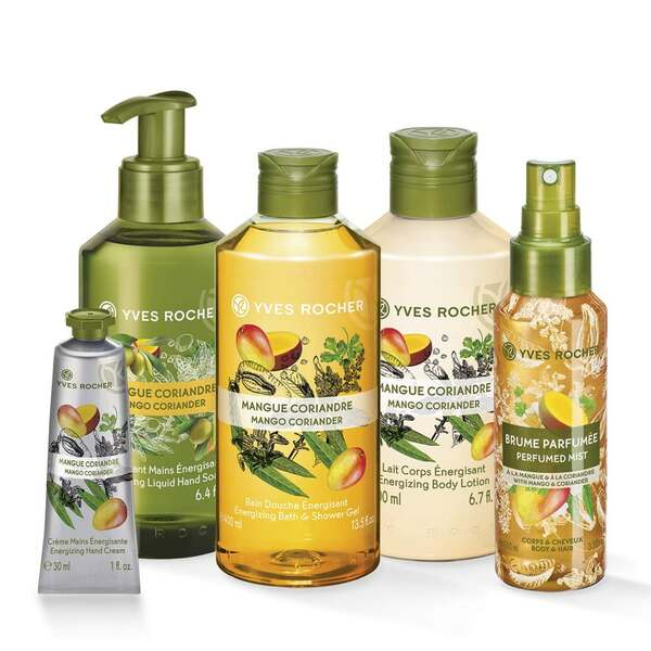 Set Les Plaisirs Nature Mangue Coriandre à 19,90€